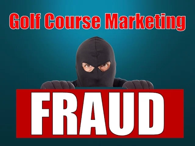 MMC®'s Golf Marketing  Fraud Vlog