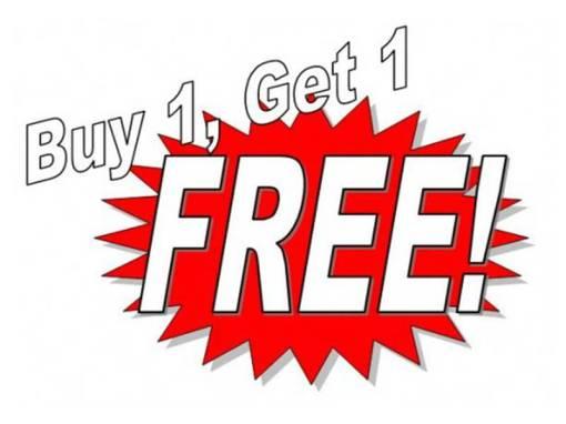 Buy-One-Get-One-Free Golf Marketing