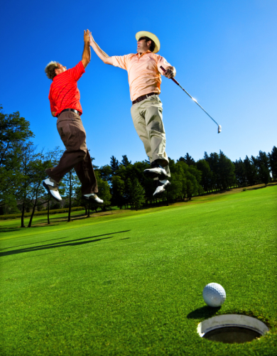 Golf Marketing Aspirational Age